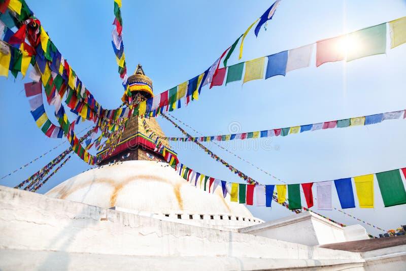 Bodhnath Stupa 库存图片