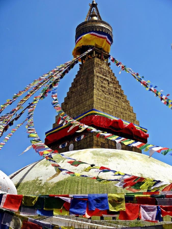 Bodhnath Stupa immagini stock