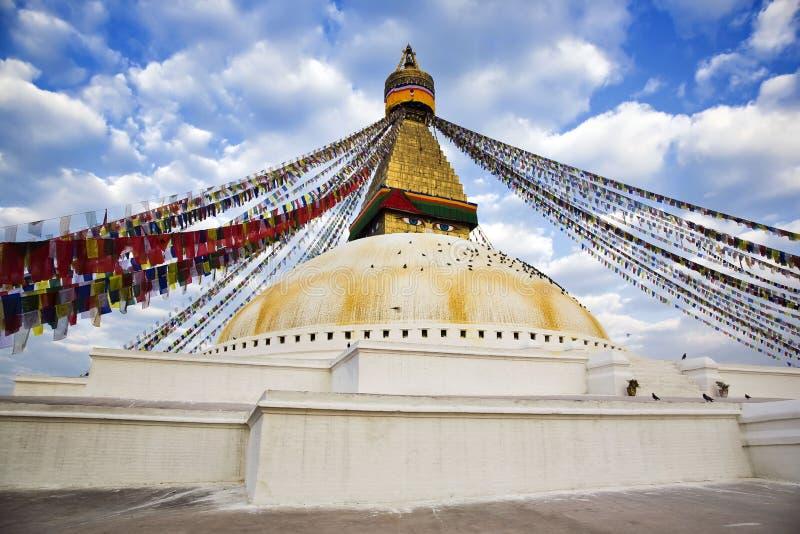 bodhnath stupa fotografia stock