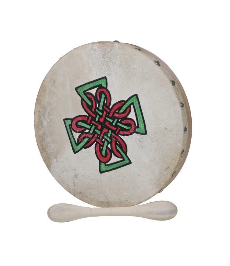 Bodhran Beater Drum stock photos
