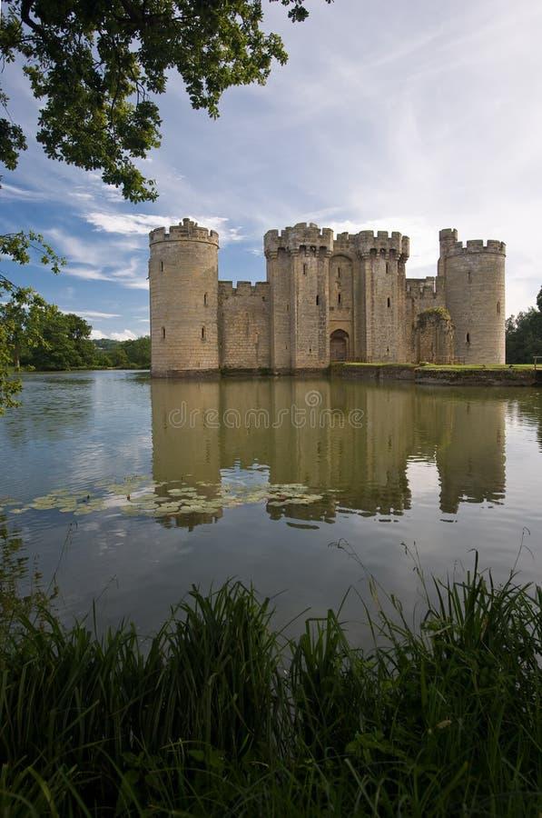 bodiam城堡 库存图片