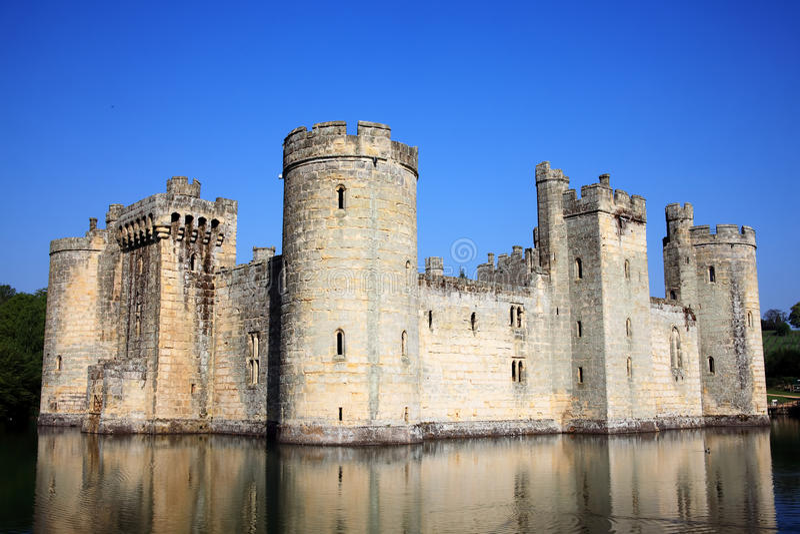bodiam κάστρο στοκ εικόνα με δικαίωμα ελεύθερης χρήσης