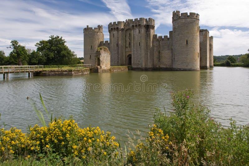 bodiam κάστρο στοκ εικόνες