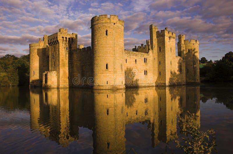 bodiam κάστρο στοκ φωτογραφίες με δικαίωμα ελεύθερης χρήσης