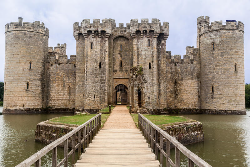 Download Bodiam Castle England Stock Image. Image Of Protection   52532919 Amazing Ideas