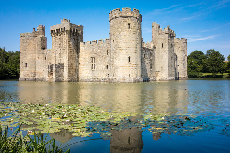 Bodiam Castle royalty free stock images