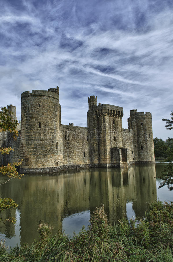 Free Bodiam Castle3 Royalty Free Stock Photo - 24663755