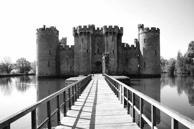Bodiam slott arkivbild