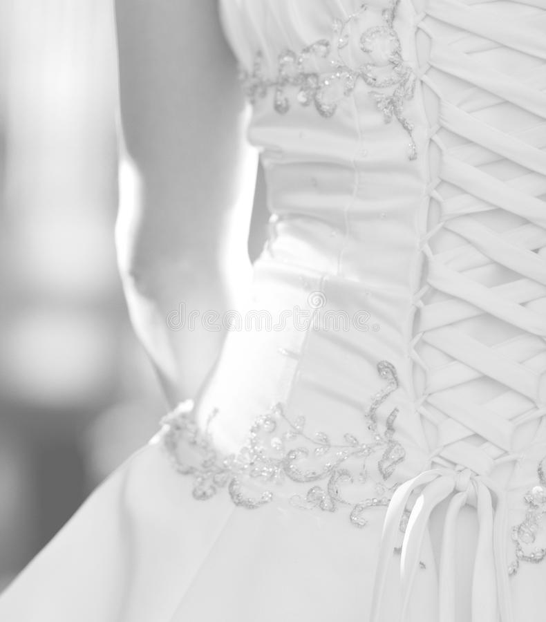 Free Bodice Bridal Gown Stock Photography - 29928452
