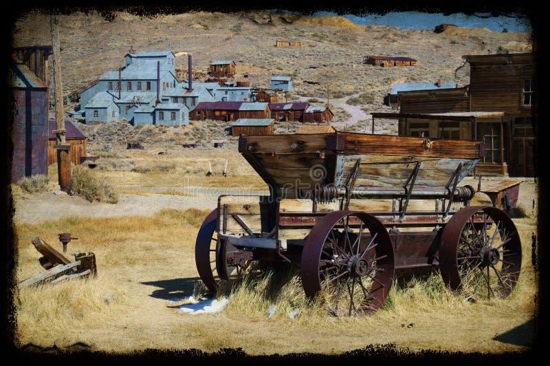 bodie加州国家公园照片状态美国 库存照片
