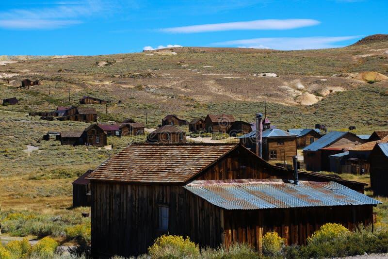 bodie加州国家公园照片状态美国 库存图片