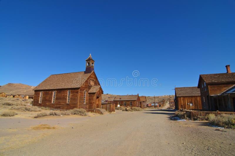 bodie加州国家公园状态美国 免版税库存照片