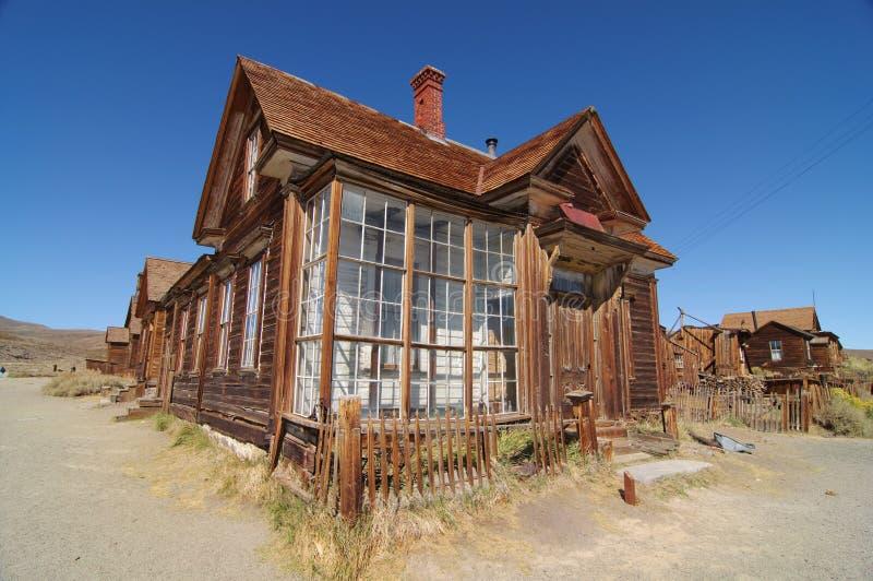 bodie加州国家公园状态美国 库存图片