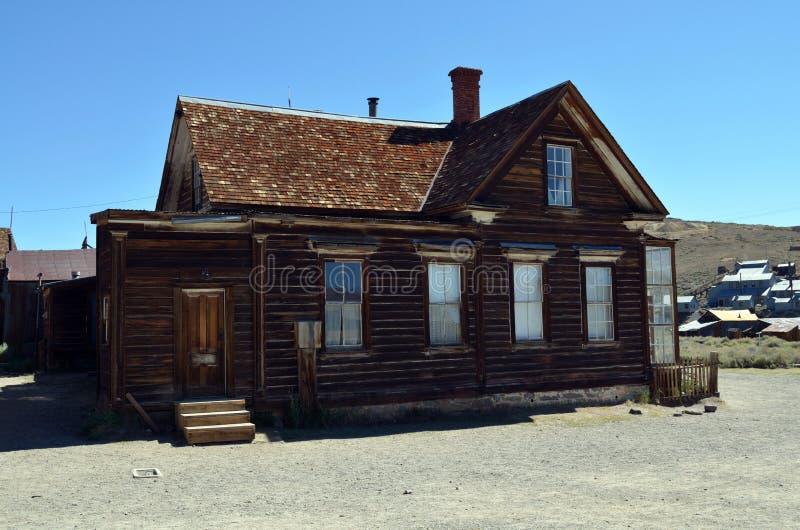 Bodie,鬼城,加利福尼亚 免版税库存照片