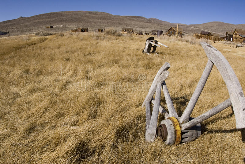 Bodie California scene. Remains of a once lively town, Bodie California royalty free stock photography
