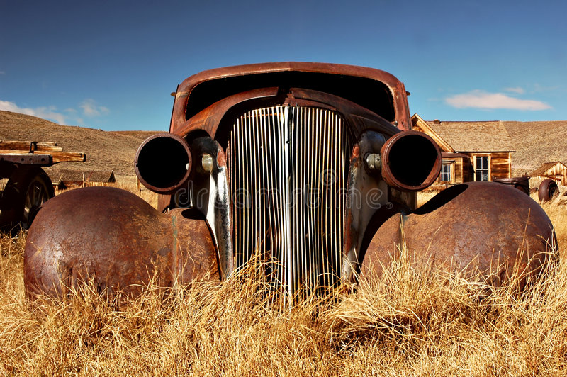 Bodie Car stock image