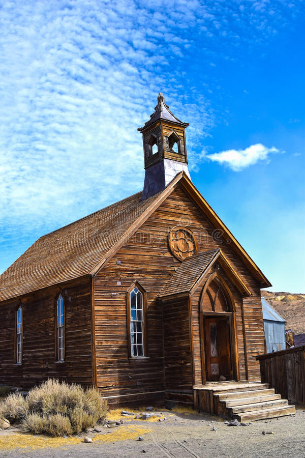 Bodie, cidade fantasma imagem de stock royalty free