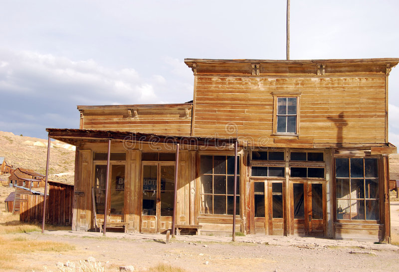 Download Bodie General Store stock image. Image of decay, weathered - 7440687