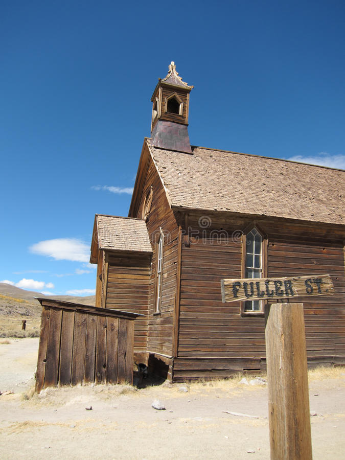 Free Bodie Ghost Town Royalty Free Stock Images - 23893829