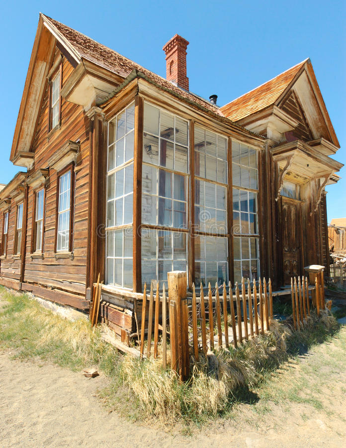 Free Bodie Ghost Town, Building In Arrested Decay Royalty Free Stock Images - 21943399