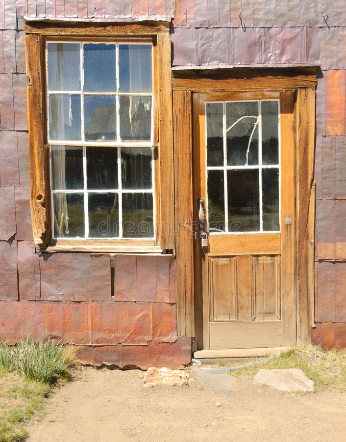 Free Bodie Ghost Town, Building In Arrested Decay Royalty Free Stock Photos - 21943408