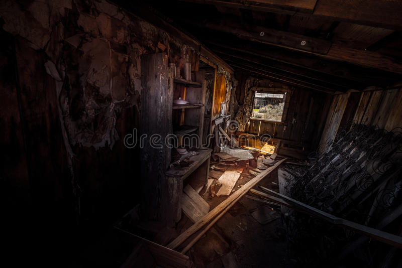 Bodie Ghost Town California image stock