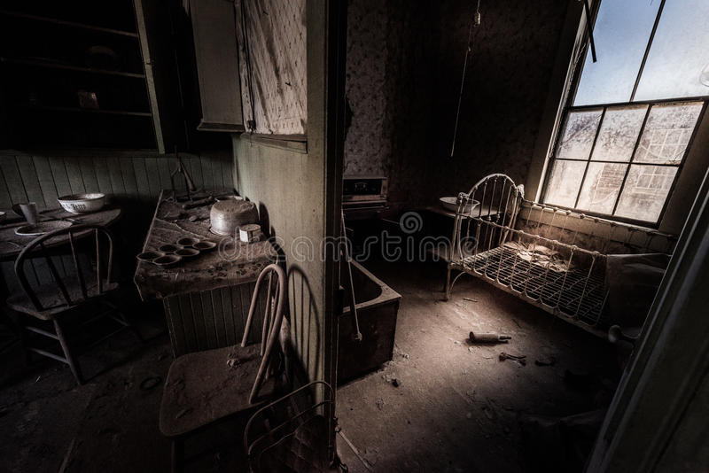 Bodie Ghost Town California Interior photo stock