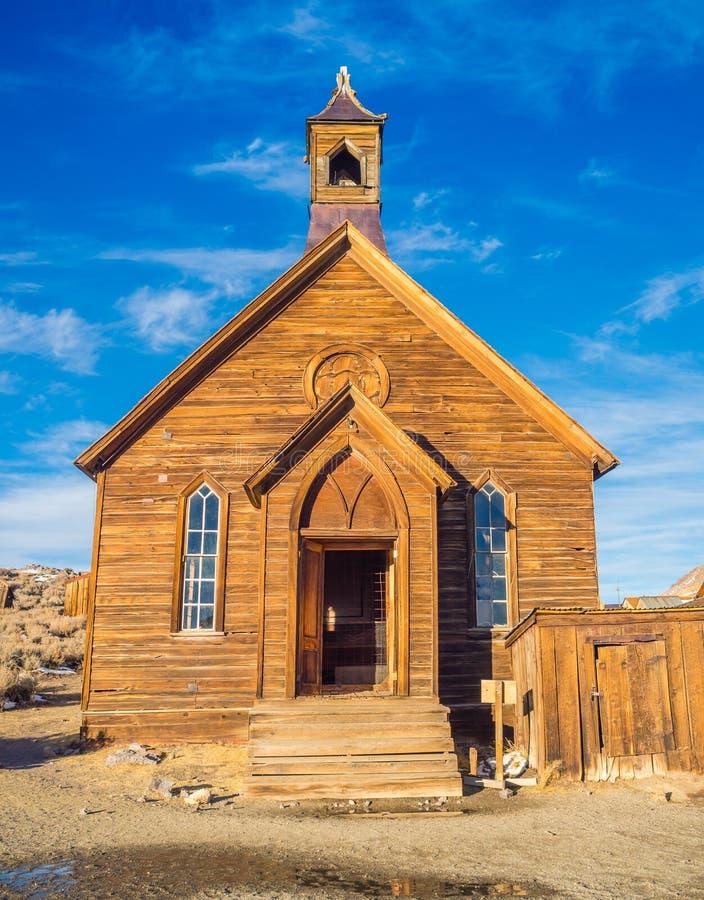 Bodie Ghost Town California State-Park lizenzfreies stockfoto