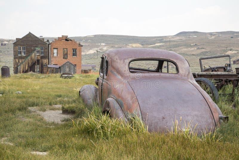 Bodie Ghost Town Car photo libre de droits