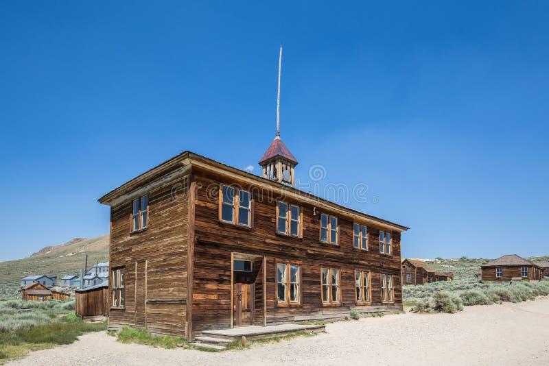 Bodie Ghost Town em Califórnia, EUA foto de stock royalty free