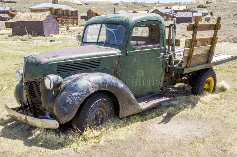 Bodie Ghost Town Old Truck fotografia stock