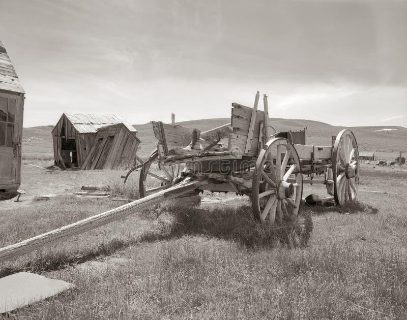 Bodie Goldmine met Kar stock afbeeldingen
