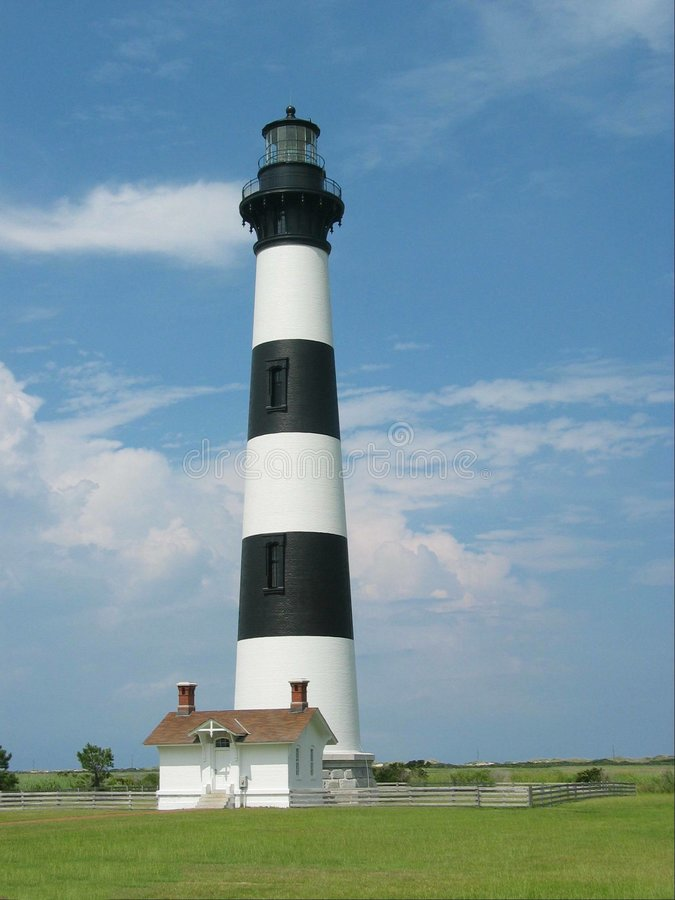 Bodie Island Lighthouse royalty free stock photos