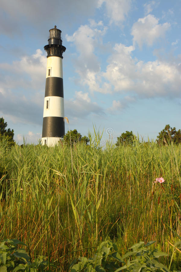 The Bodie Island lighthouse royalty free stock photo
