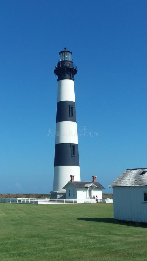 Bodie Island Lighthouse. Eastern North Carolina royalty free stock image