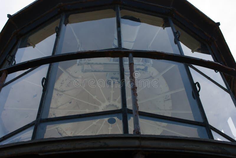 Bodie Island Lighthouse histórico no litoral nacional de Hatteras do cabo nos bancos exteriores de North Carolina imagem de stock