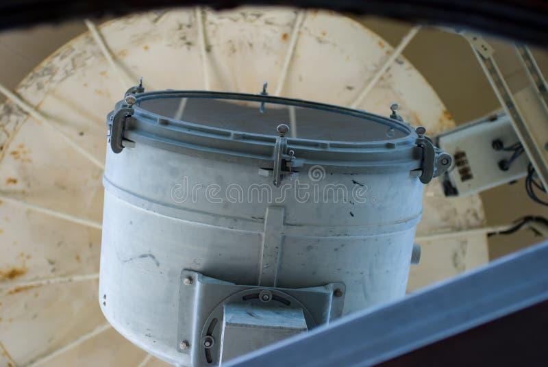 Bodie Island Lighthouse histórico no litoral nacional de Hatteras do cabo nos bancos exteriores de North Carolina imagens de stock royalty free