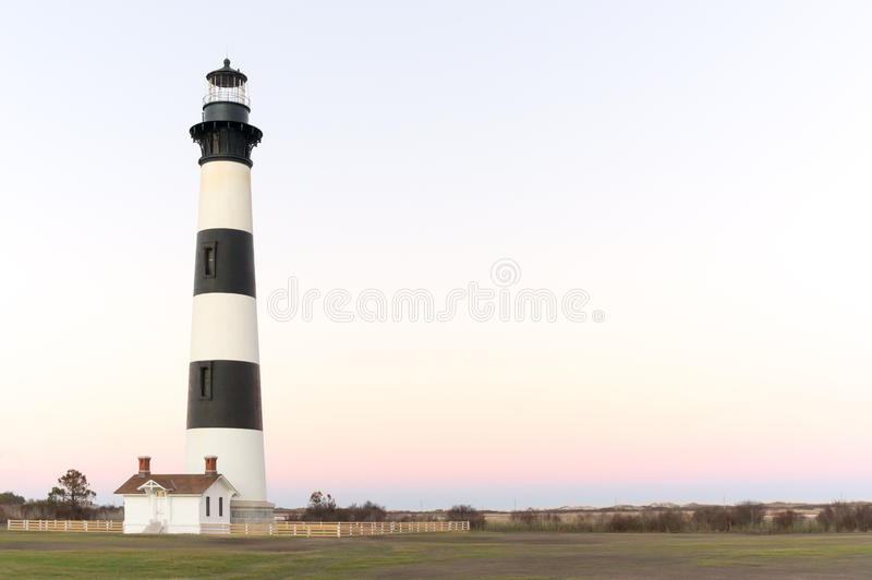 Bodie Island Lighthouse II royaltyfria bilder