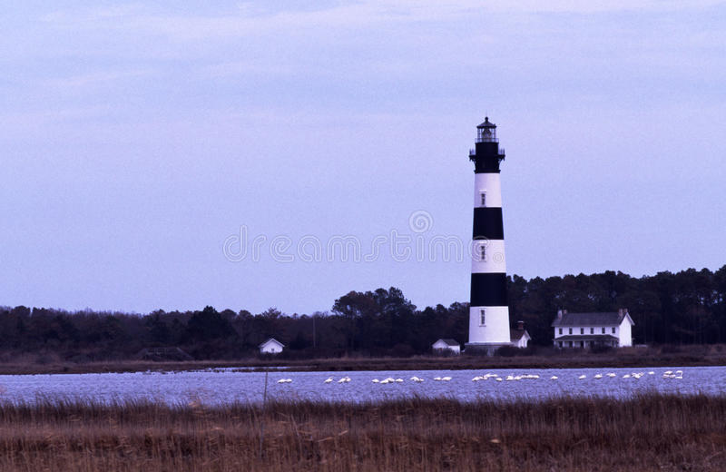 Bodie Island Lighthouse, NC stock images