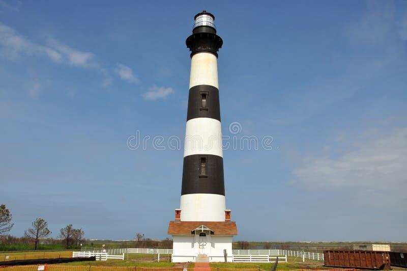 Bodie Island Lighthouse, NC, de V.S. royalty-vrije stock fotografie