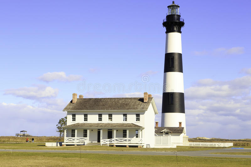 Bodie Island LightHouse. Outer Banks Bodie Island LightHouse royalty free stock photography