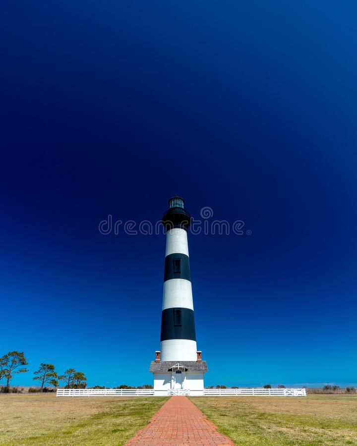 Bodie Island Lighthouse, Outer Banks, North Carolina stock images