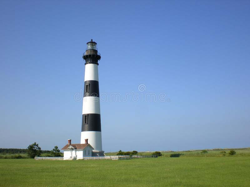 Bodie Lighthouse Outer Banks royalty free stock photography