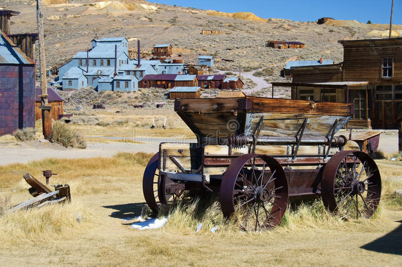 Bodie-nationaler Nationalpark, Ca, USA lizenzfreie stockfotos