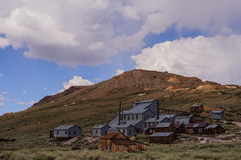 Bodie Stamp Mill photos stock