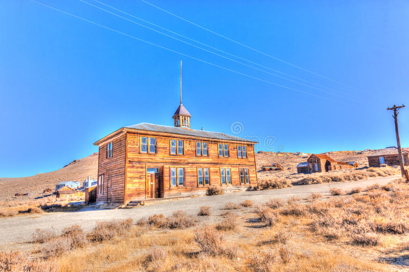 Bodie State Historic Park foto de stock royalty free