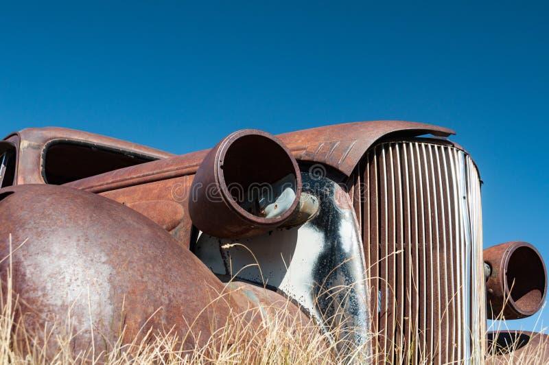 Bodie State Historic Park, cidade fantasma em Bodie Hills, mono fotografia de stock royalty free