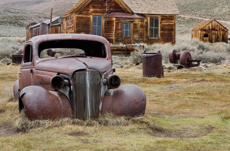 Download Bodie town stock photo. Image of america, automobile - 14649248