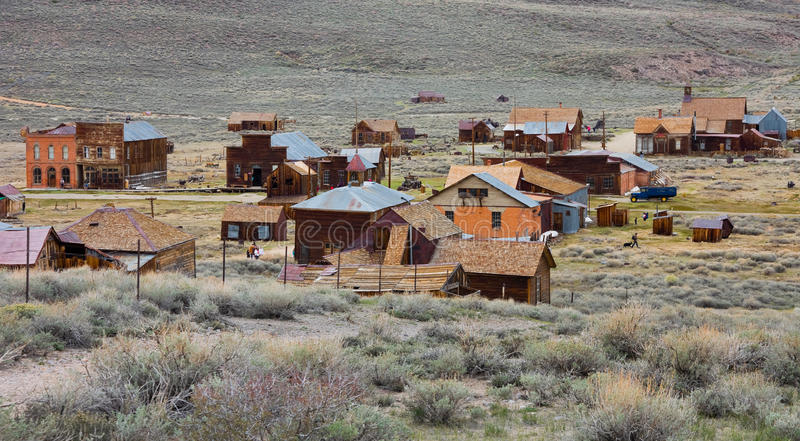 Bodie town. Bodie (ghost town) in California stock images