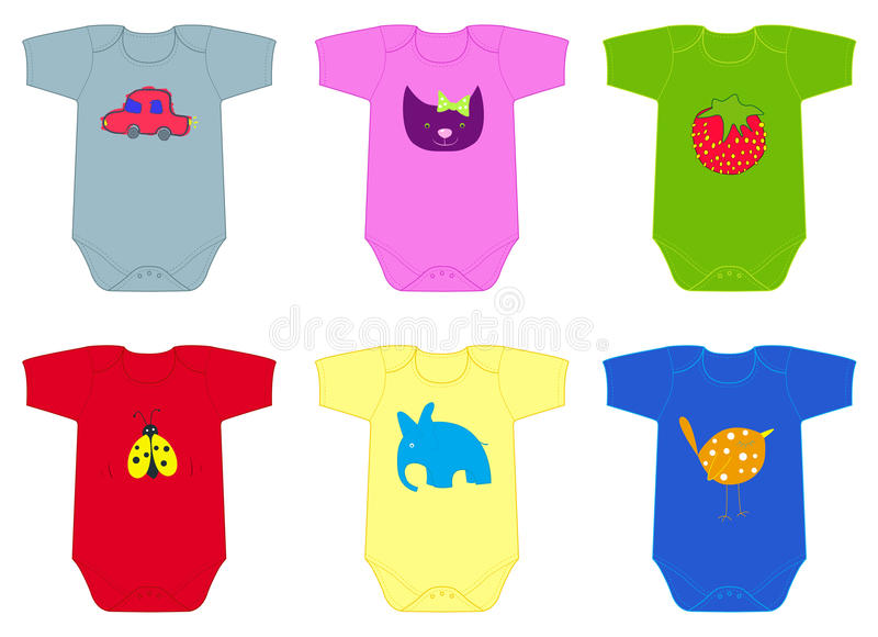 Download The bodies stock vector. Image of garment, drawings, toddler - 26225727